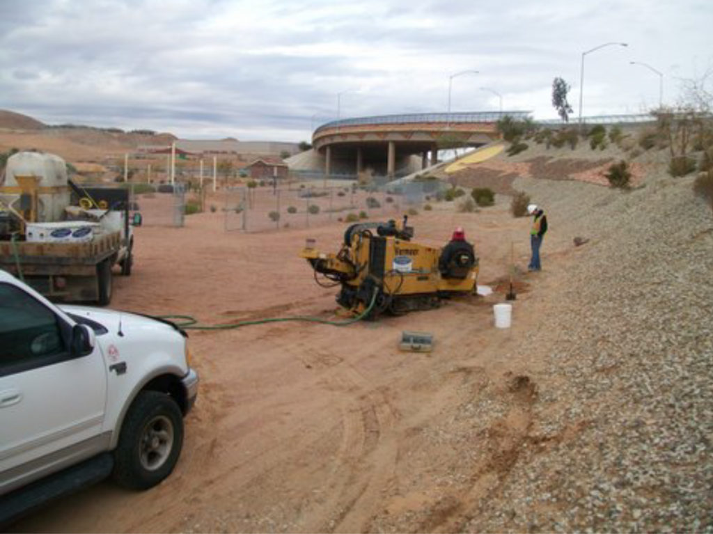 Installing Fiber Optics in Mesquite